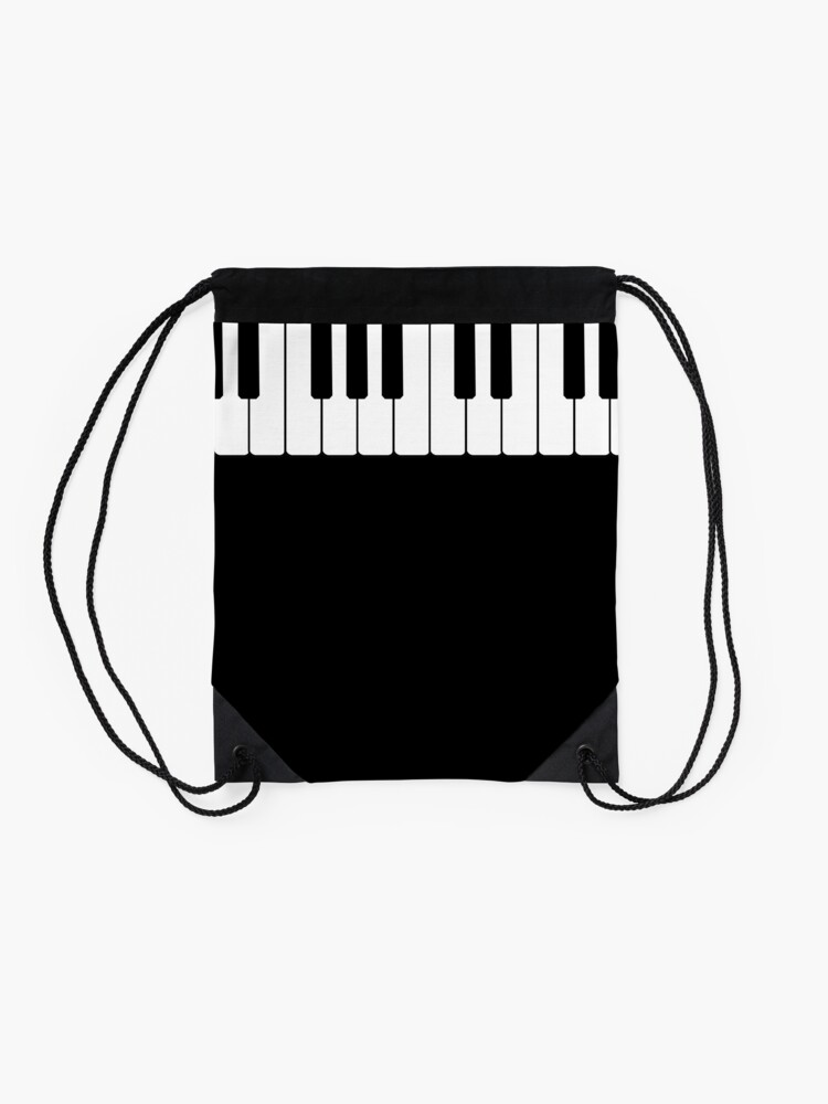 Alternate view of Piano Drawstring Bag