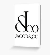 jacob&co Greeting Card