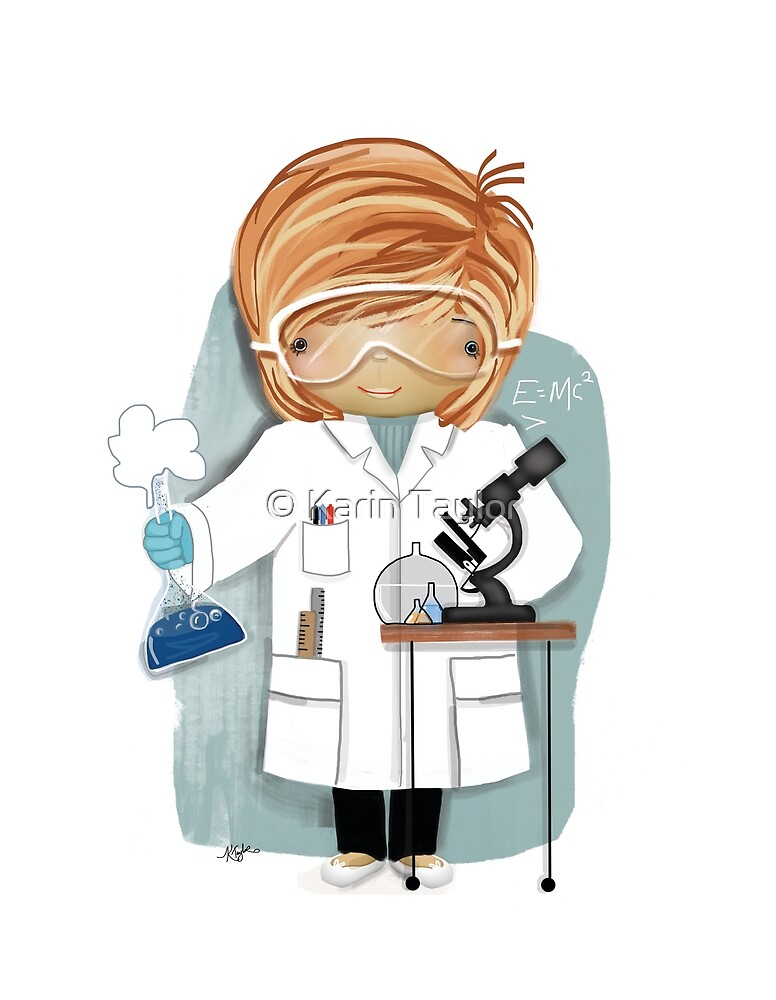 The Little Scientist by Karin Taylor