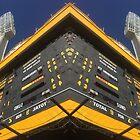 Under the Scoreboard - WACA Ground, Perth by Lunaqwa