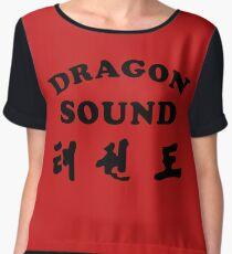 Dragon Sound Chiffon Top