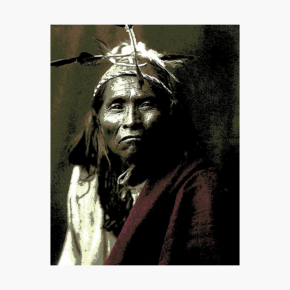 Ndee Sangochonh ( Apache Indian | Photographic Print