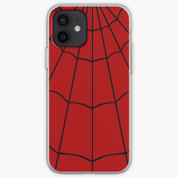 Spider Web - Red iPhone Soft Case