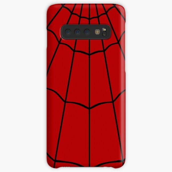 Spider Web - Red Samsung Galaxy Snap Case