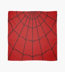 Spider Web - Red Scarf