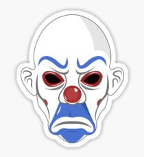 Joker's Mask Sticker