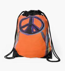 Reaching for Peace Drawstring Bag