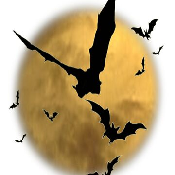 Bats in the Evening by HerbRe