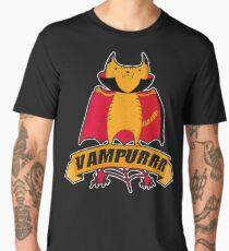 Vampurrr - Vampire Cat Cartoon Men's Premium T-Shirt
