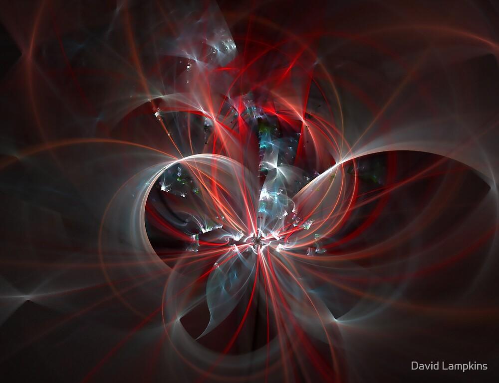Plasma Flower by David Lampkins