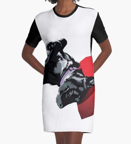 Asha Graphic T-Shirt Dress