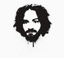 Charles Manson Stencil