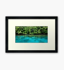 Bougainville Shoreline Framed Print