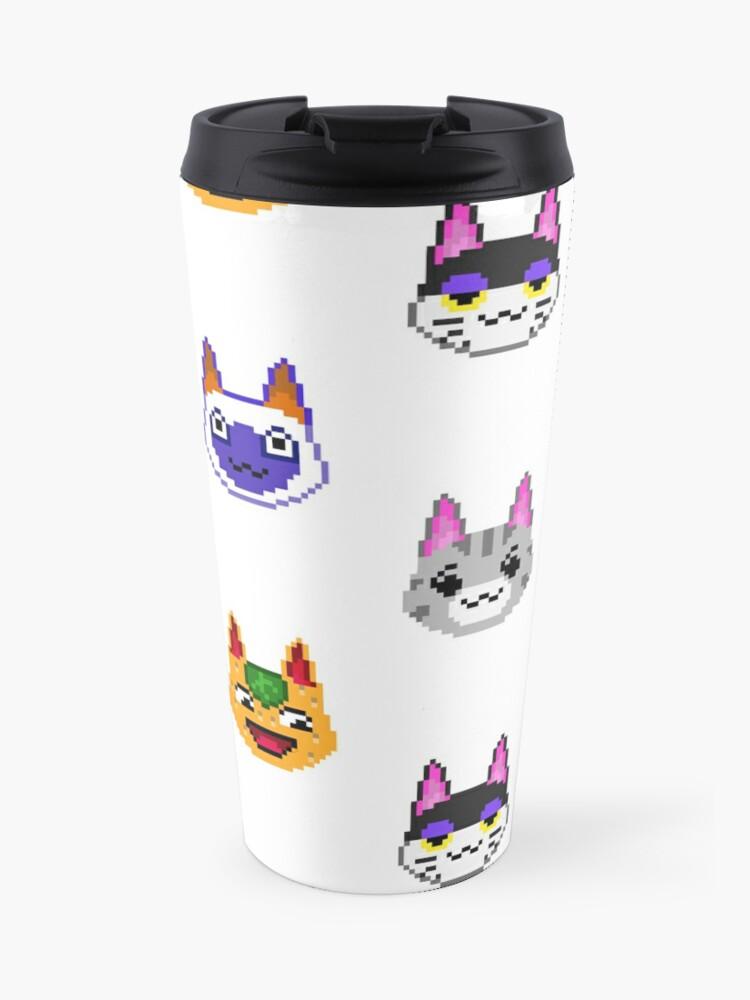 Animaux Isotherme Cats ChatJoyeuxPunchyRosieMug ArtbobTangyLollyMitziKid Crossing Pixel lK3FcT1J