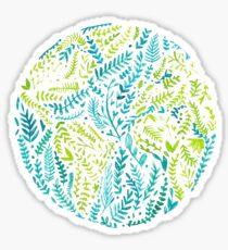 watercolor earth world  Sticker