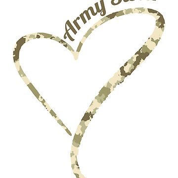 Proud Army Sister by Distrill