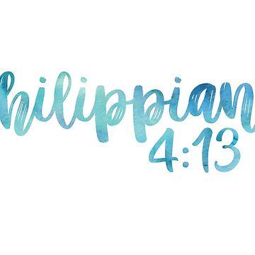 Philippians 4:13 by jaylajones