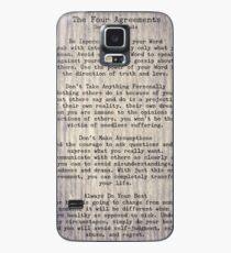 Die vier Abkommen 6 Hülle & Klebefolie für Samsung Galaxy