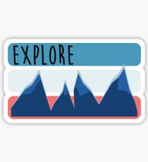 exploring is good for the soul Sticker