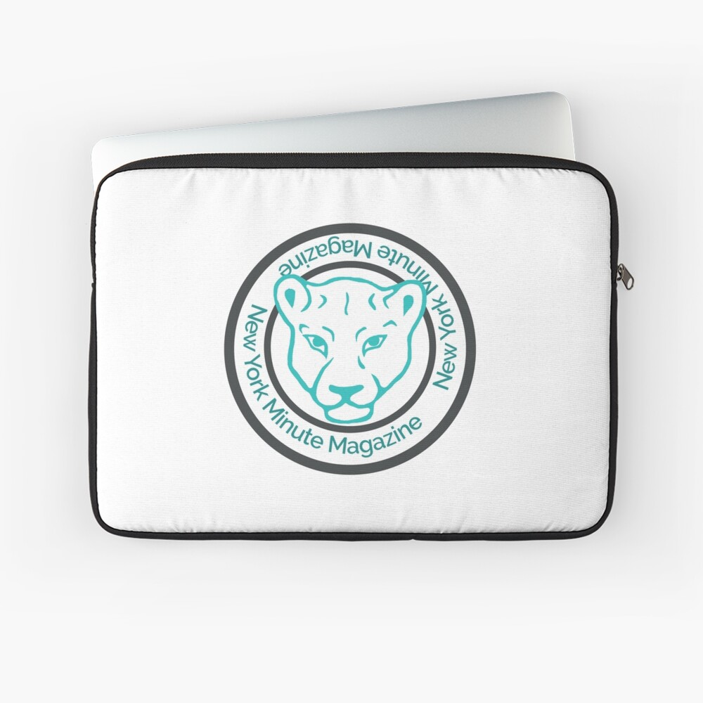 Blue Lioness Emblem Laptop Sleeve