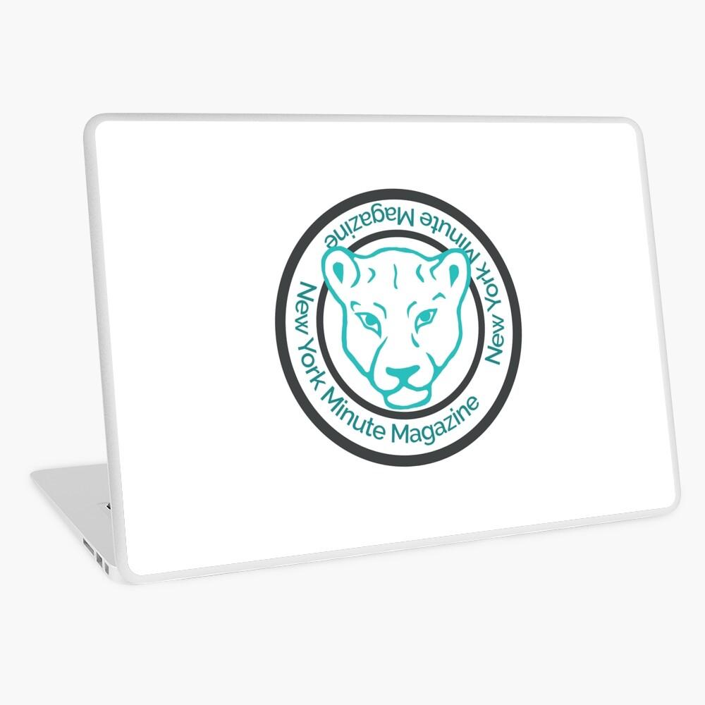 Blue Lioness Emblem Laptop Skin