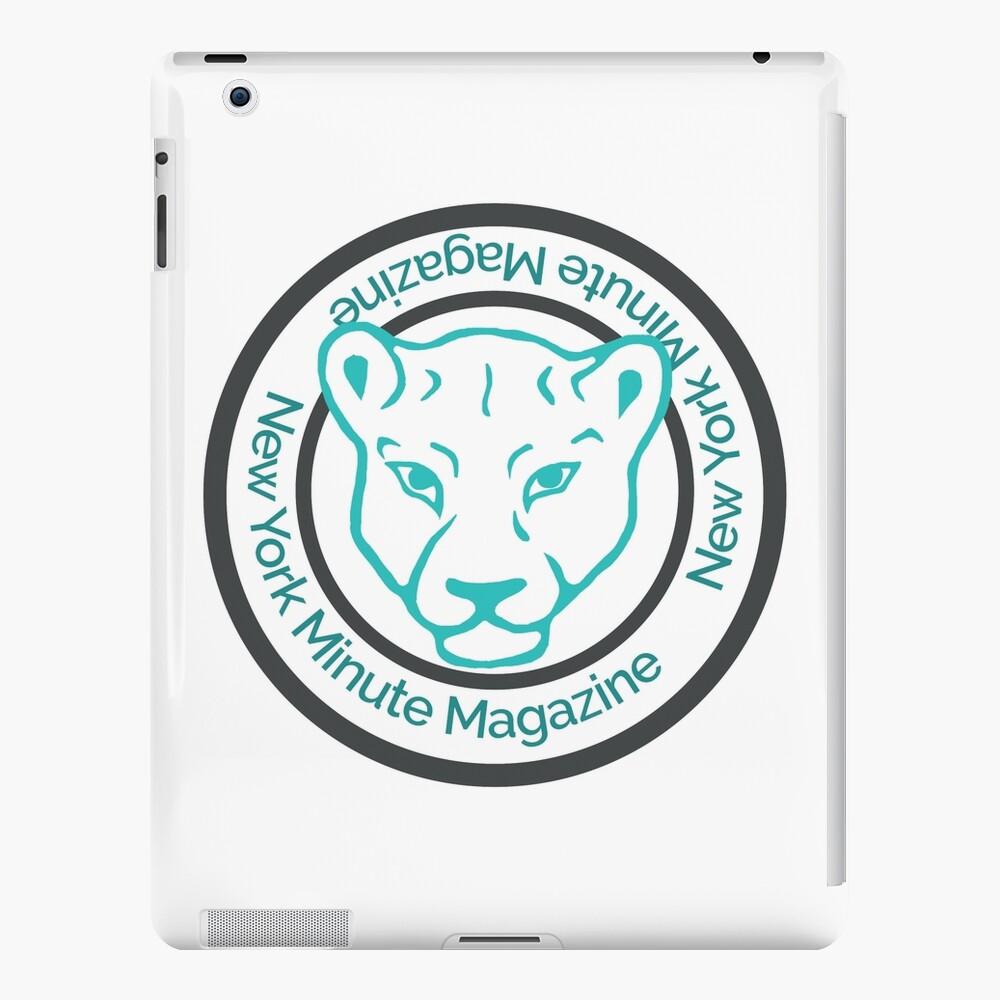 Blue Lioness Emblem iPad Case & Skin