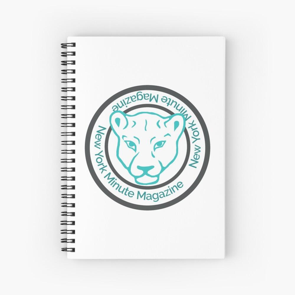 Blue Lioness Emblem Spiral Notebook