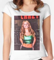 BRITNEY CRAZY Women's Fitted Scoop T-Shirt