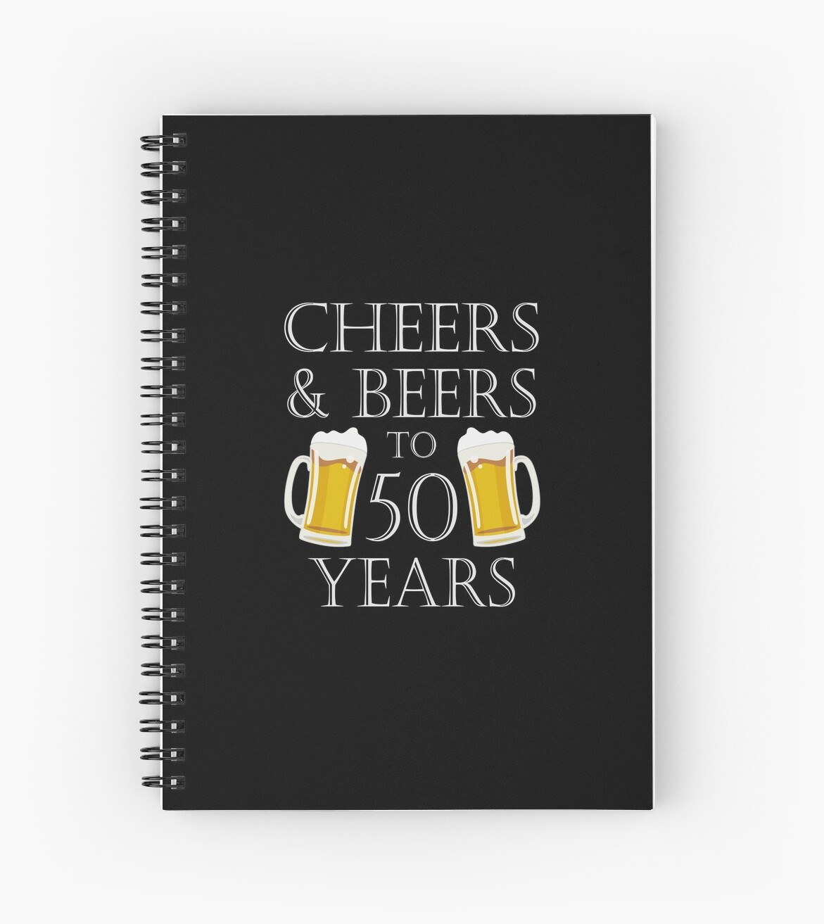 Cheers And Beers To 50 Years 50th Birthday Gift