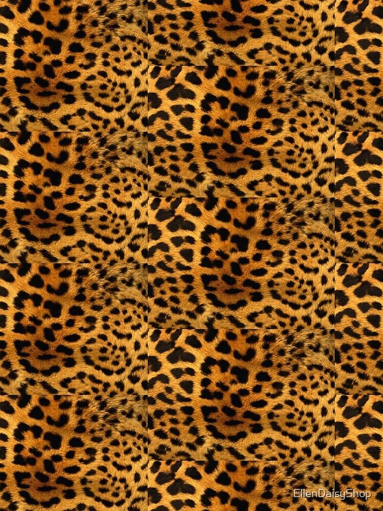 Leopard Print Cheetah Spots by EllenDaisyShop