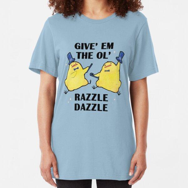Razzle Dazzle Birdblobs Slim Fit T-Shirt