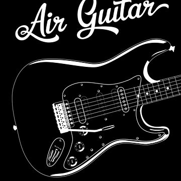 Air Guitar Shirt by FunnyAddicting