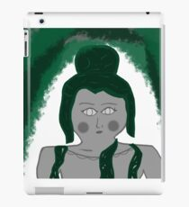 Statue Covered in Moss iPad Case/Skin