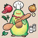 Avocado Chef Birdblob by Sabtastic