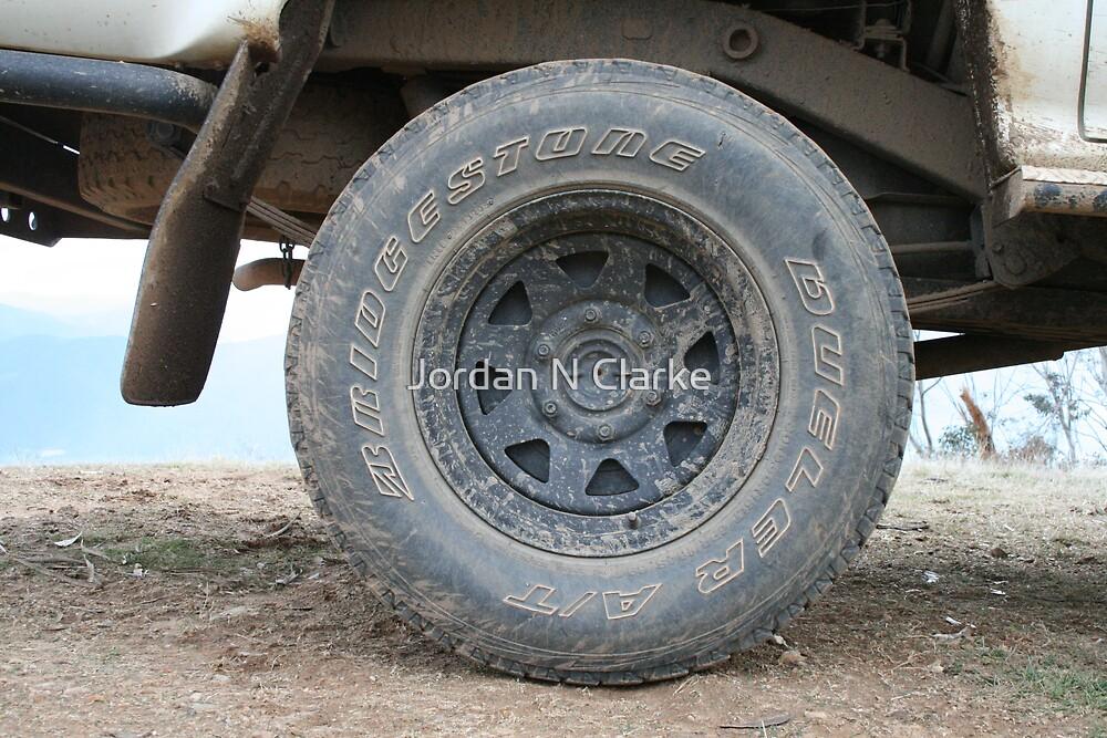 Dirty Wheel by Jordan N Clarke