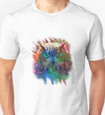 Eule bunt T-Shirt