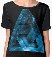 "God Triangle ""Trinity"" Universe Women's Chiffon Top"