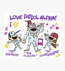 Gravity Falls LOVE PATROL ALPHA Replica Photographic Print