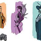 RPG adventurer Sticker pack by rgbrg