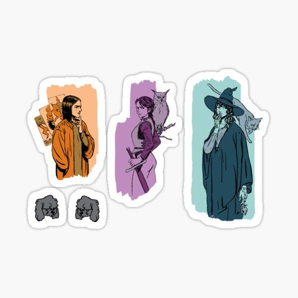 RPG adventurer Sticker pack Sticker