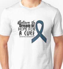 Believe Arthritis Awareness Support Gifts  Unisex T-Shirt