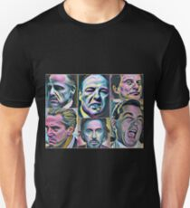 Gangsters painting movie Goodfellas Godfather Casino Scarface Sopranos T-Shirt