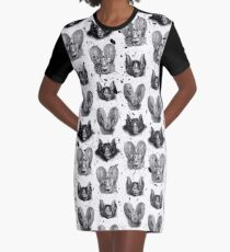 Bats VII Graphic T-Shirt Dress