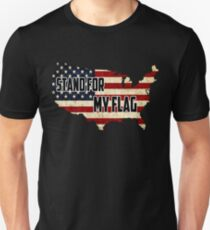 Stand For My American Flag T-Shirt