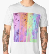 Holographic Daisy Rainbow Men's Premium T-Shirt