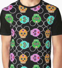 Dia De Los Muertos Ears (Pattern) Graphic T-Shirt