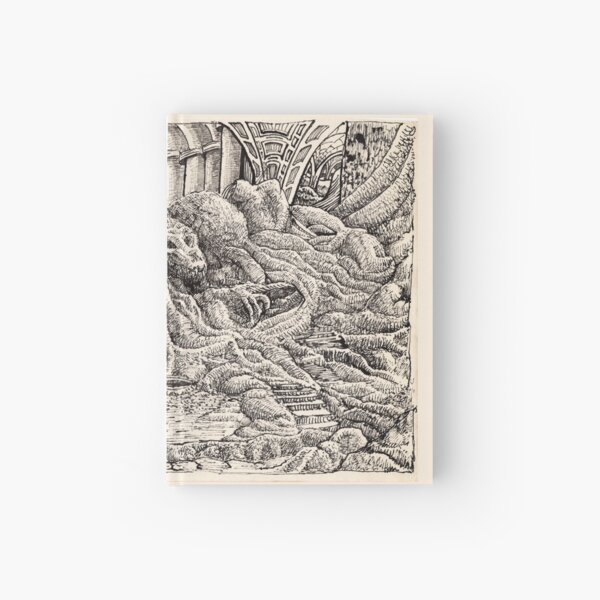 Entrance to the Feline Temple Hardcover Journal