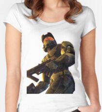 Master Chief (Halo 2) Women's Fitted Scoop T-Shirt