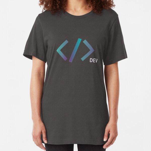 Web Developer Tag Slim Fit T-Shirt