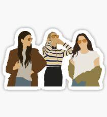Haim Sticker